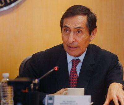 Rogelio Ramírez de la O, secretario de Hacienda, dijo que los agregados fiscales son parte de una política fiscal responsable y que apuntan a una estabilización de la deuda. © Cuartoscuro.com