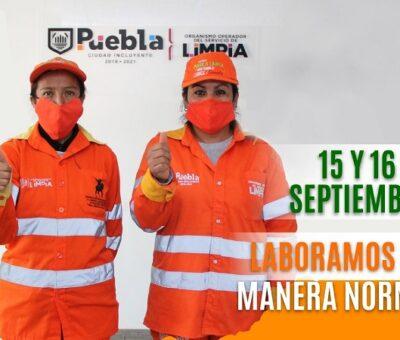 El Organismo Operador del Servicio de Limpia del Ayuntamiento de Puebla
