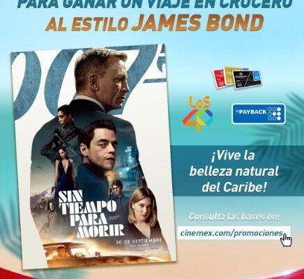 """""""James Bond Sin Tiempo Para Morir"""""""