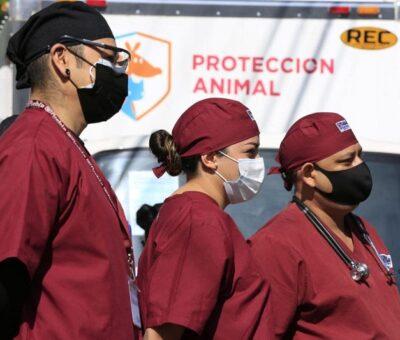 El Ayuntamiento de Puebla, encabezado por Claudia Rivera Vivanco, equipó el Centro de Protección Animal zona norte y entregó un quirófano móvil para atender a pequeñas especies