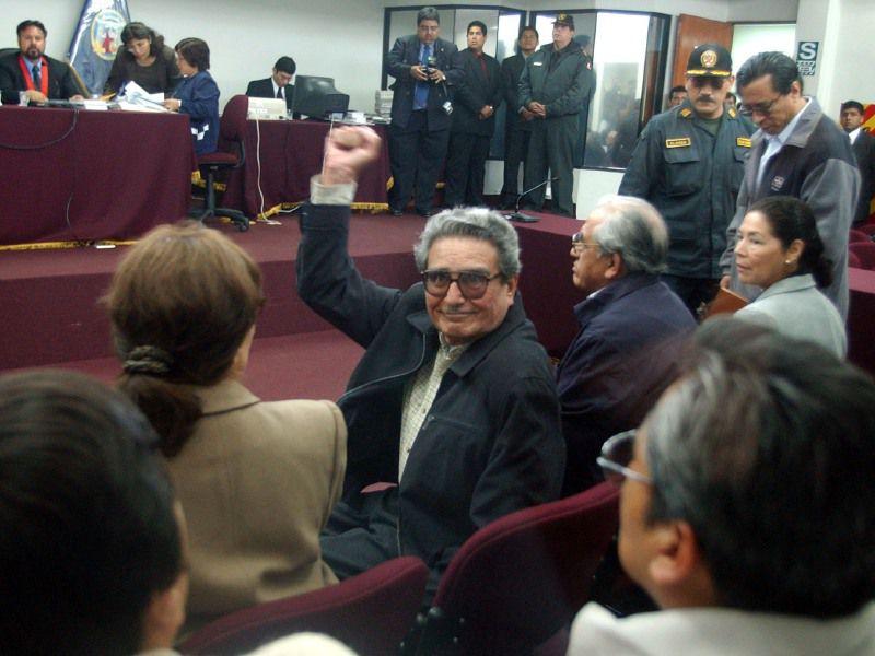 Abimael Guzmán, fundador de Sendero Luminoso, murió en una cárcel peruana el pasado 11 de septiembre. MARTIN MEJIA