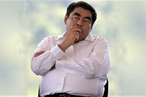 El gobernador de Puebla, Miguel Barbosa . Foto: Twitter @MBarbosaMX
