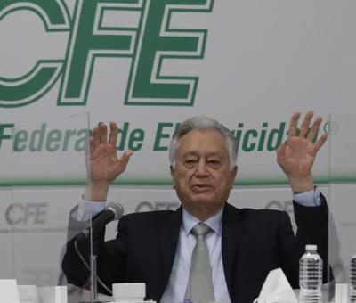 Manuel Bartlett director general de CFE. Foto Yazmín Ortega/ Archivo