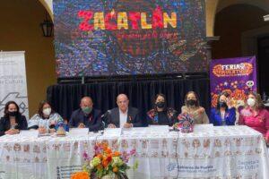 El evento integra tres festivales: el del pan de queso, de la sidra y el refresco de manzana y el del mole. Foto: Cortesía Gobierno Municipal de Zacatlán