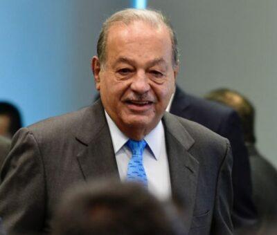 El empresario Carlos Slim . Foto: Benjamín Flores
