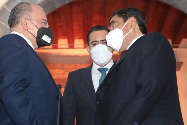 José Luis Márquez presentó 22 proyectos a realizar de infraestructura hidráulica, sanitaria y urbana; modernización de caminos y acciones deportivas. (Especial)