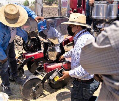 Ayuntamiento de Puebla reactiva 138 hectáreas para la producción agrícola